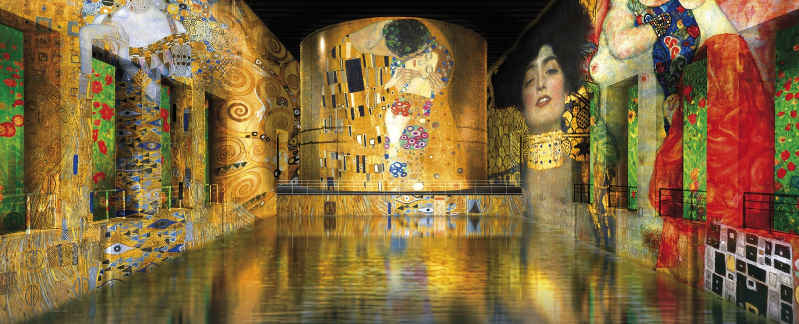 Gustav Klimt: gold and colour